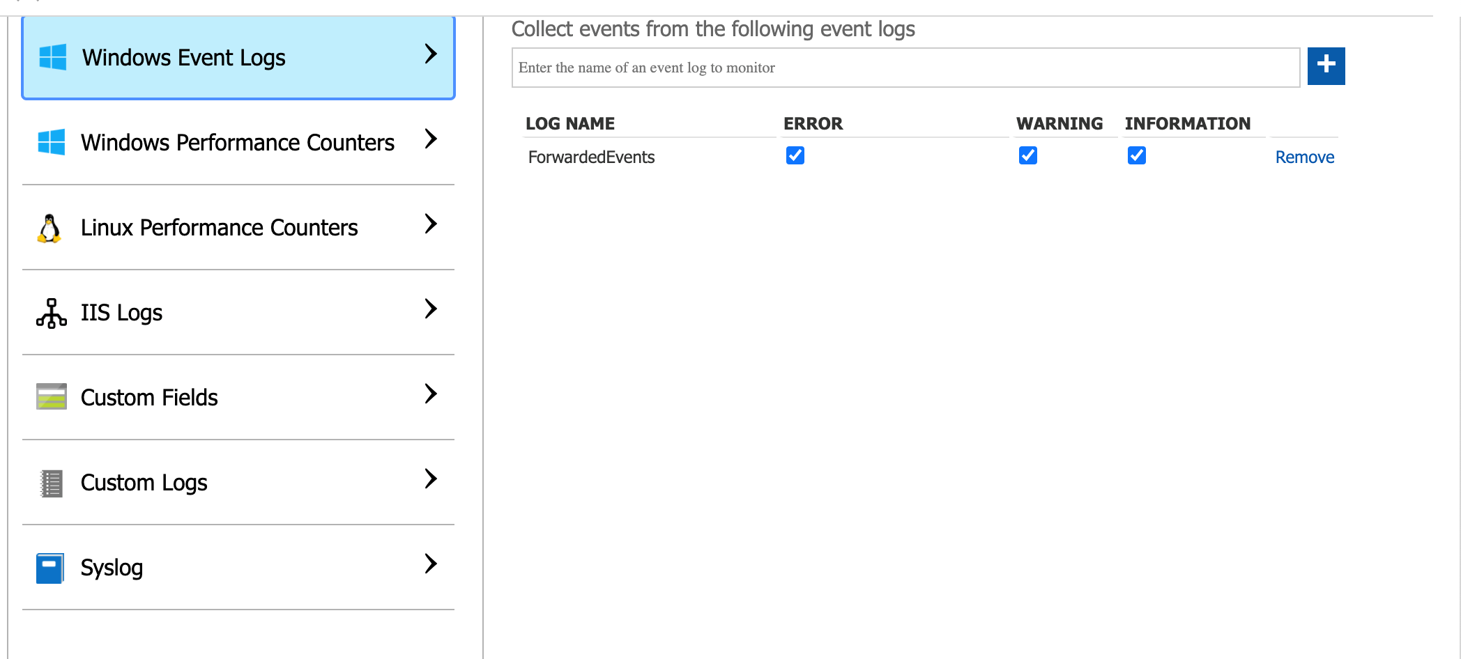 Azure Event Logs